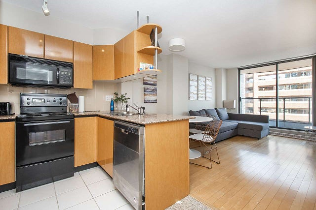 1703 1189 HOWE STREET - Downtown VW Apartment/Condo for sale, 1 Bedroom (R2405895) #4