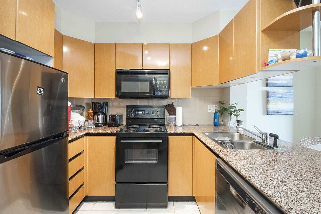 1703 1189 HOWE STREET - Downtown VW Apartment/Condo for sale, 1 Bedroom (R2405895) #6