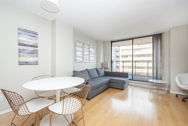 1703 1189 HOWE STREET - Downtown VW Apartment/Condo for sale, 1 Bedroom (R2405895) #7